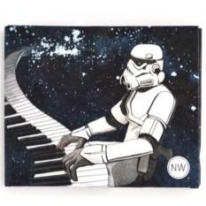 Бумажник Star Wars из полимерного микроволокна Tyvek