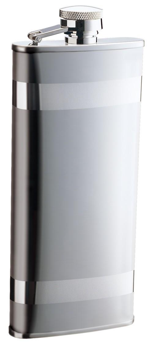 Металлическая фляга S.Quire, глянцевый металл