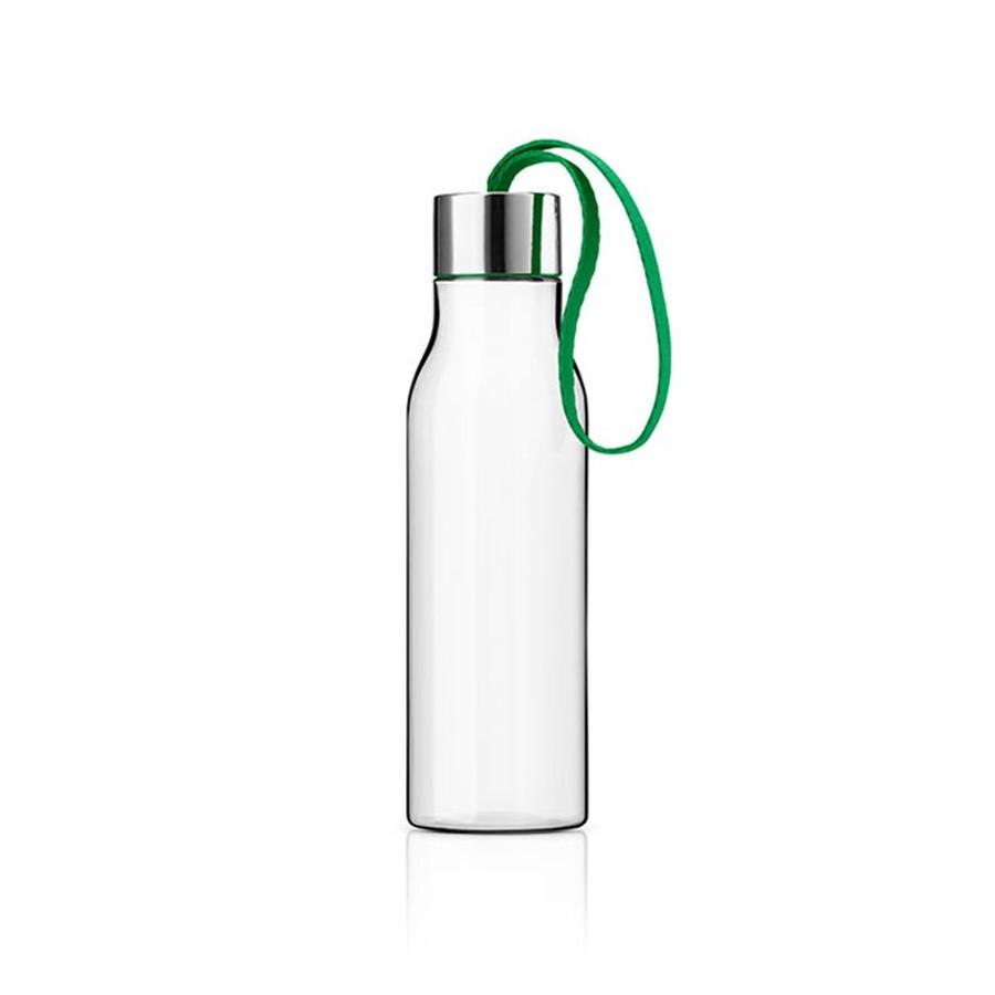 Ярко-зеленая бутылка