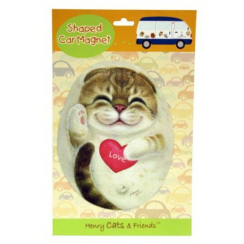 Магнит на холодильник формовой Кошка Белла