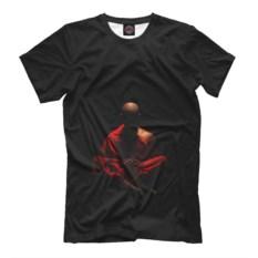 Мужская футболка Монах