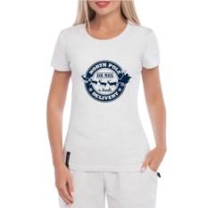 Женская футболка North pole delivery