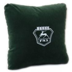 Темно-зеленая подушка Газ