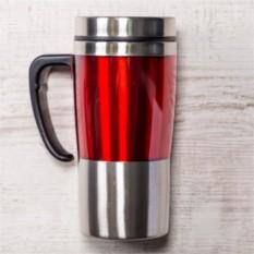 Красная термокружка Чаепитие