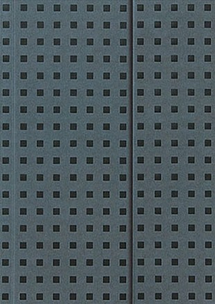 Блокноты Paper-oh Quadro Серый на чёрном