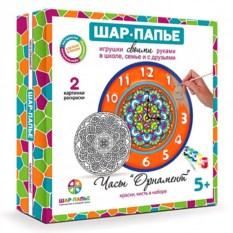 Набор для творчества из папье-маше «Часы»