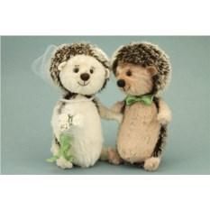 Игрушки ручной работы Свадебные ёжики