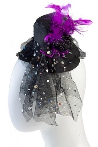 Маскарадная шляпа для взрослых Вуаля