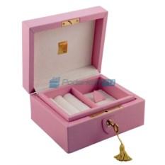 Розовая шкатулка для драгоценностей Английская леди