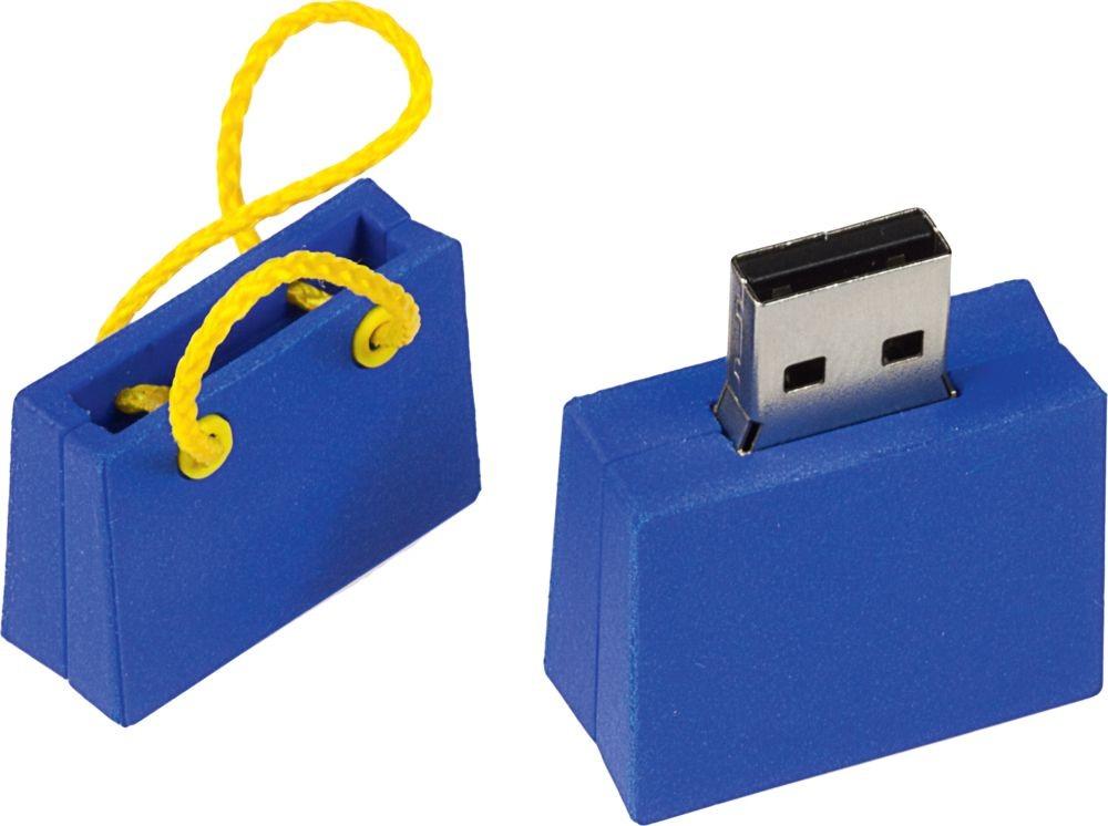 Флешка Пакет, синий, 8 Гб