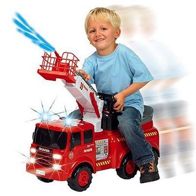 Каталка-пожарная машина с водой