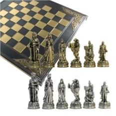 Металлический шахматный набор Камелот