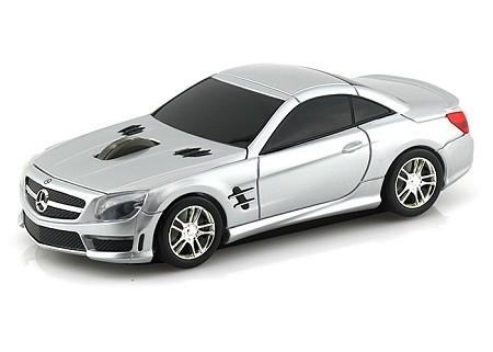 Мышь в виде Landmice Mercedes-Benz SL63 AMG Silver