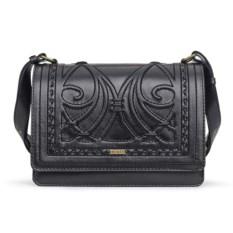 Черная женская сумочка «Ар-нуво»