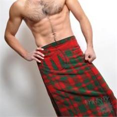 Полотенце Шотландский килт
