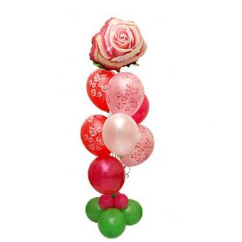 Букет из шаров «Розочка»