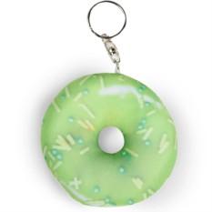 Брелок-антистресс «Пончик зеленый»