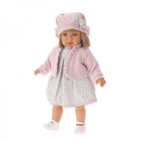 Кукла-девочка Аделина в розовом Munecas Antonio Juan
