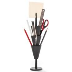 Органайзер для рабочего стола Pen tower черный