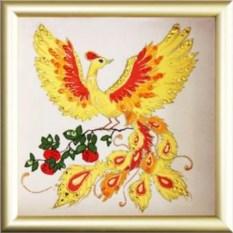 Картина с кристаллами Swarovski Жар-птица
