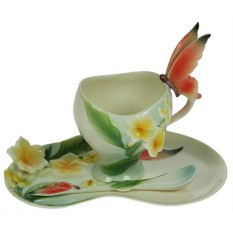 Подарочный чайный набор на 1 персону Бабочки