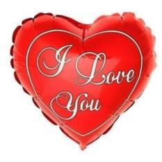 Шар I LOVE YOU!