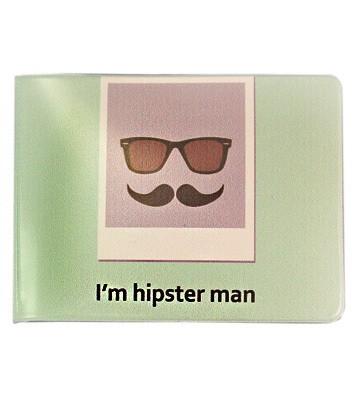 Обложка для студенческого I am Hipster Man