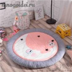 Теплый детский игровой коврик Баюшки-баю