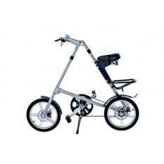Серебряный складной велосипед FitBike