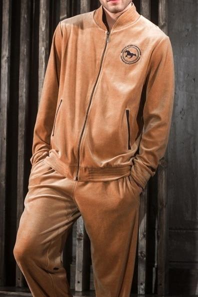 Мужской домашний костюм из велюра Laete