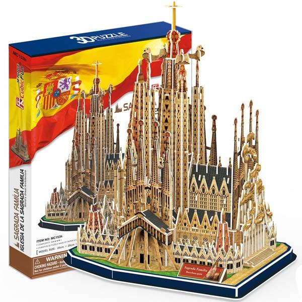 3D пазл Cubic Fun Храм святого семейства (Испания)