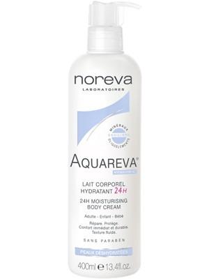 Увлажняющее молочко для тела 400 мл (Noreva, Aquareva)