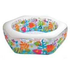 Шестиугольный надувной бассейн Риф