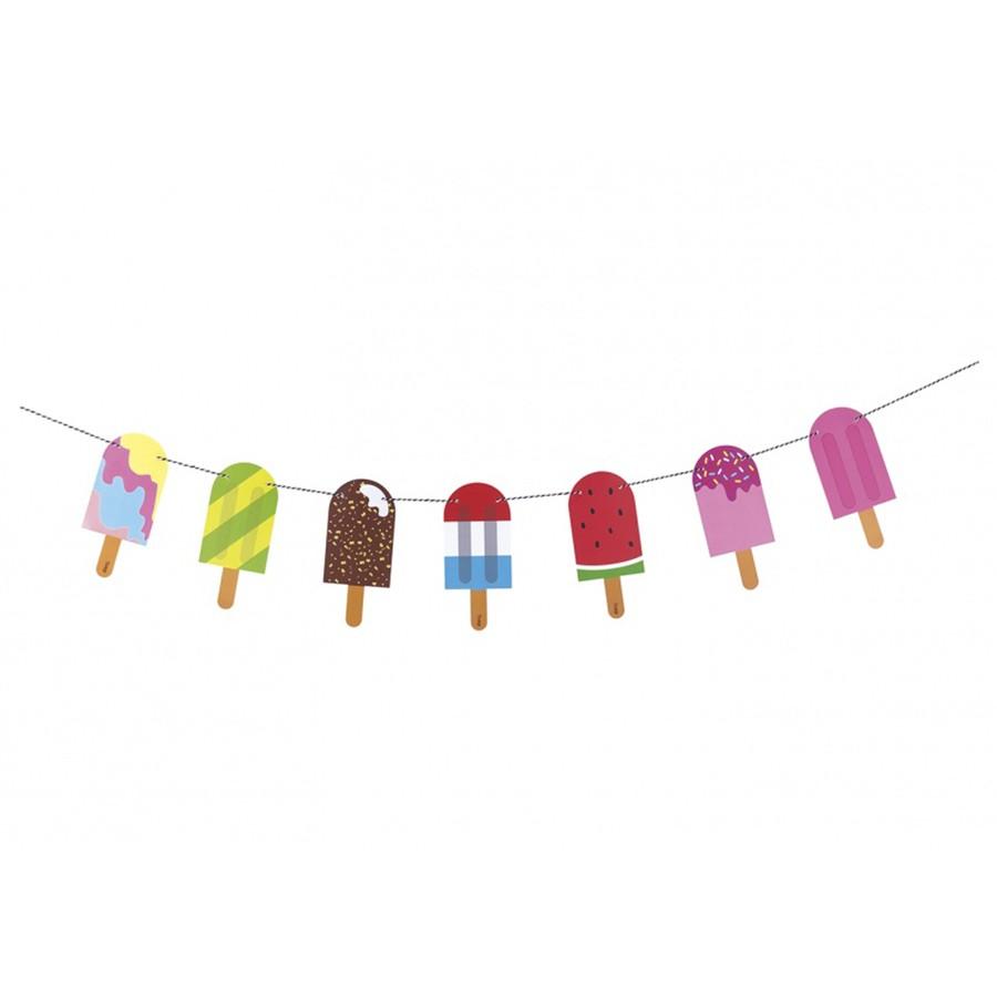 Гирлянда для вечеринки Popsicle