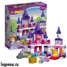 Конструктор Лего Дупло Принцессы. Королевский Замок