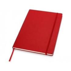 Записная книжка формата А4 на 80 страниц с застежкой