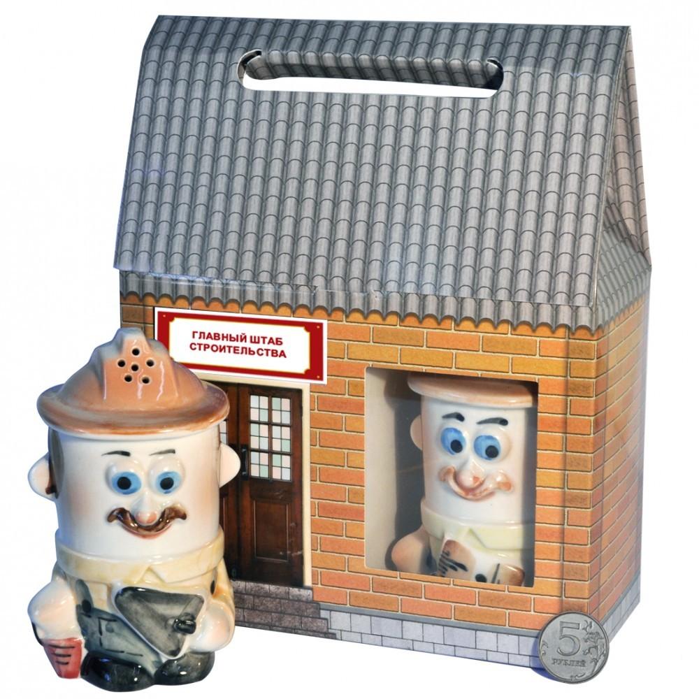 Набор для специй Веселые строители