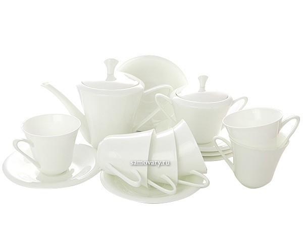 Чайный сервиз Белый