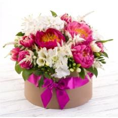 Букет цветов Космополитен