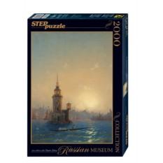 Пазл Вид Леандровой Башни в Константинополе