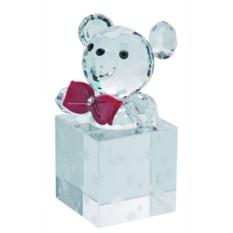 Хрустальная статуэтка Подарок медвежонка Тедди