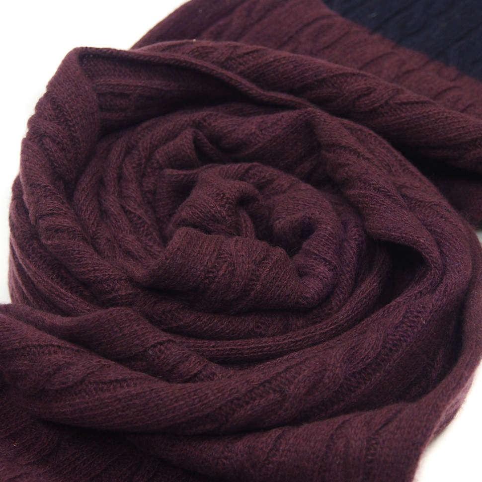 Темный мужской шарф Valentino
