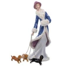 Статуэтка Дама с собаками от Pavone