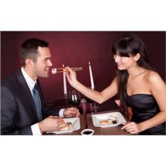Подарочный сертификат Романтический ужин в японском стиле