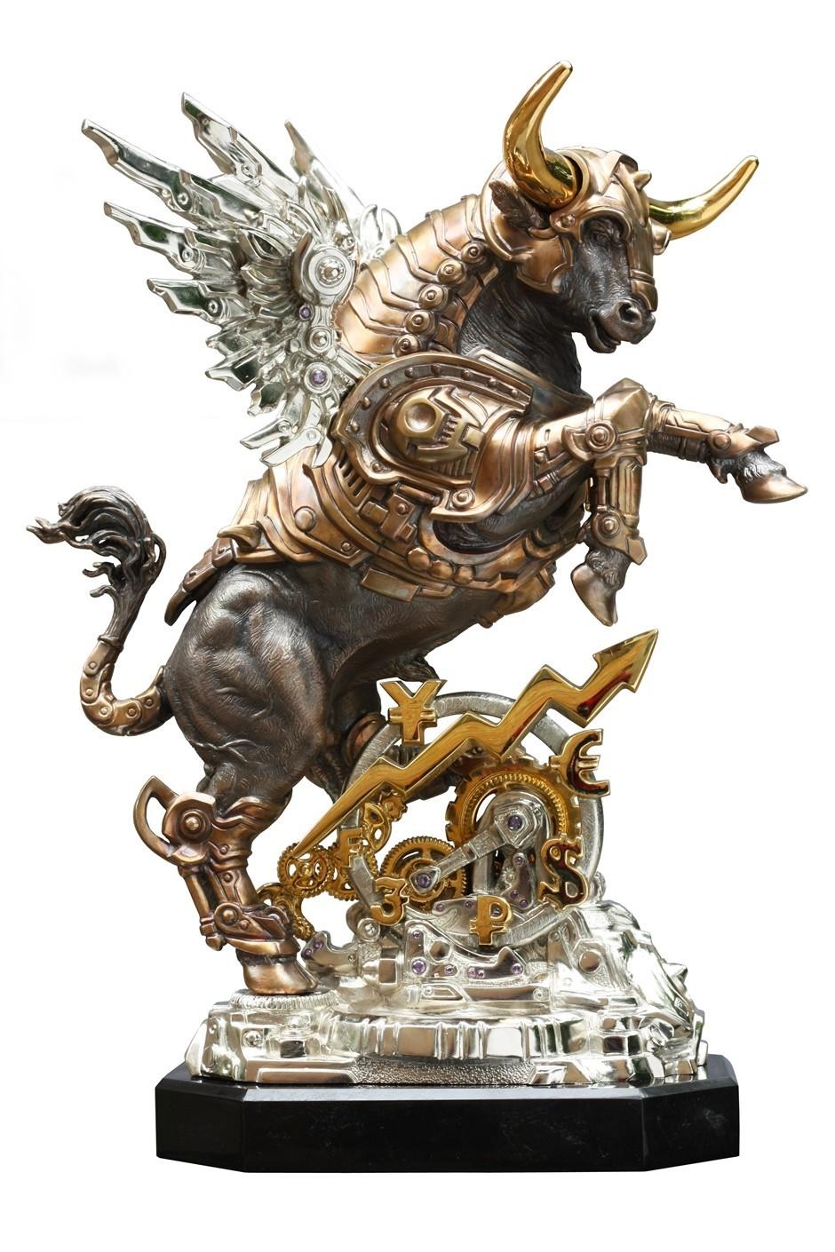 Бронзовая статуэтка Золотой Телец