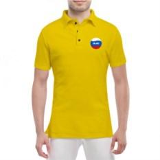 Женская мужская футболка поло Олег