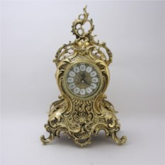 Бронзовые каминные часы Ласу