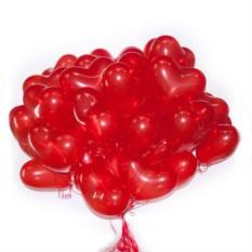 Красные латексные шары Сердце