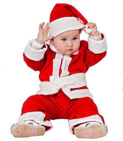 Карнавальный костюм Санта Клаус малыш, 18-24 мес
