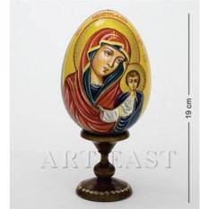 Яйцо-икона Святой Лик. Казанская божья матерь